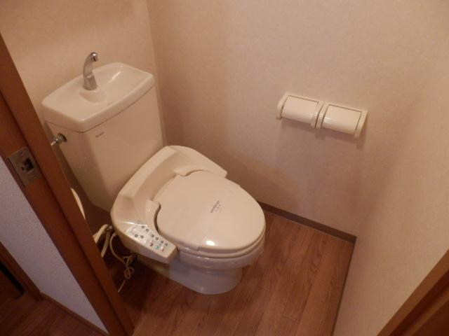 フロント ヴィレッジ 206号室のトイレ