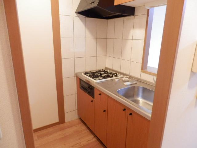 フロント ヴィレッジ 206号室のキッチン
