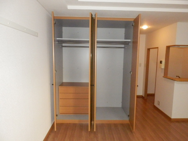 フロント ヴィレッジ 206号室の収納