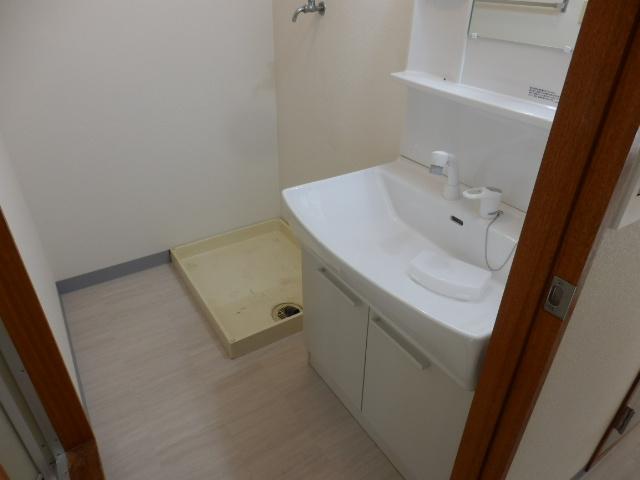 鶴辺ハイツ 101号室の洗面所