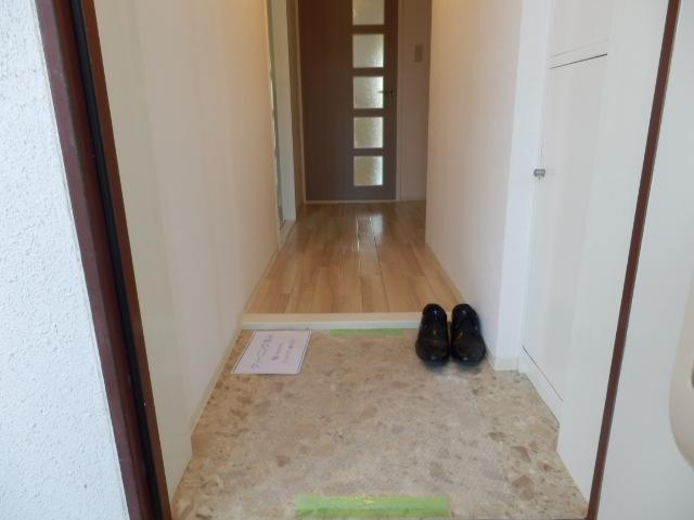 鶴辺ハイツ 101号室の玄関