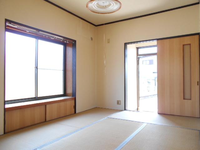 金田住宅のベッドルーム
