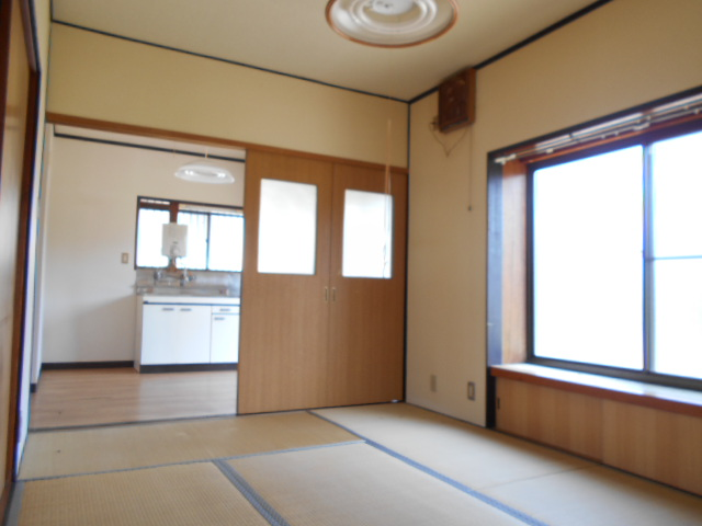 金田住宅のリビング