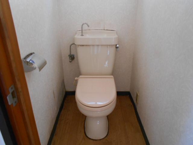 金田住宅のトイレ
