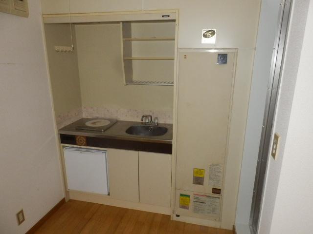アドニスASコーポ 205号室のキッチン