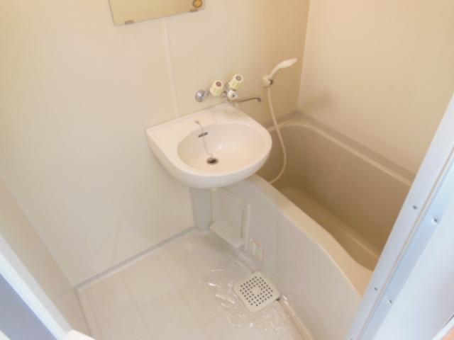 ハイツナカミチ 203号室の風呂