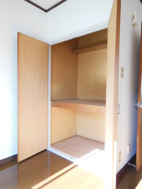ハイツナカミチ 203号室の収納