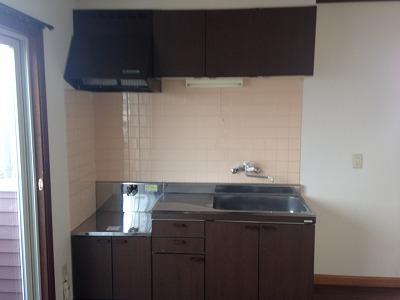 アーバンソフィア 206号室のキッチン