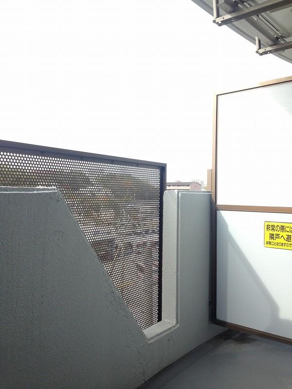 ルック神田 403号室のバルコニー