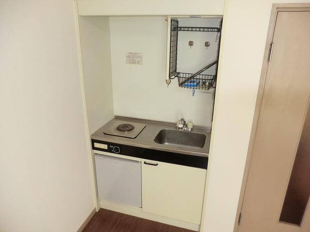 コーポ第2キャロット 102号室のキッチン