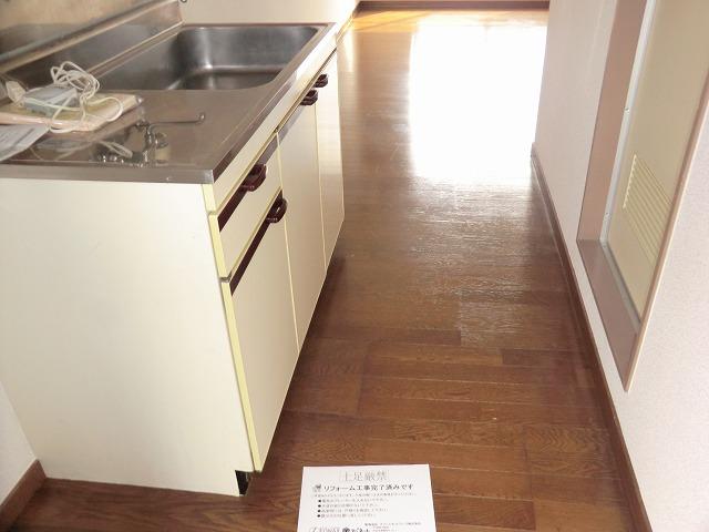 アンフィニいぶき 202号室のキッチン