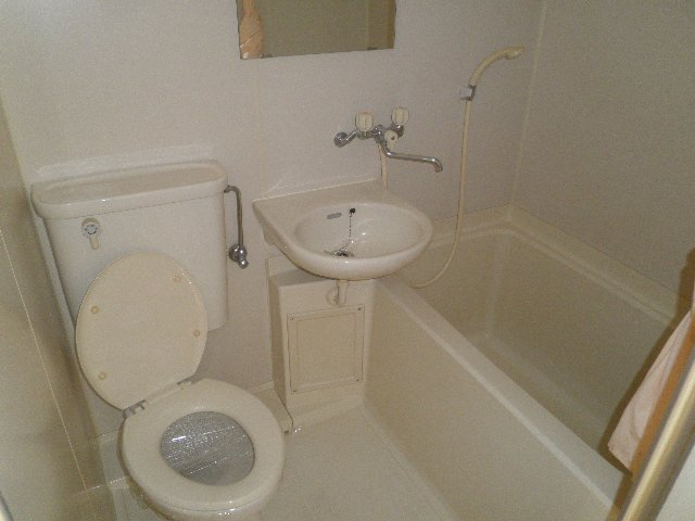 アンフィニいぶき 202号室の風呂
