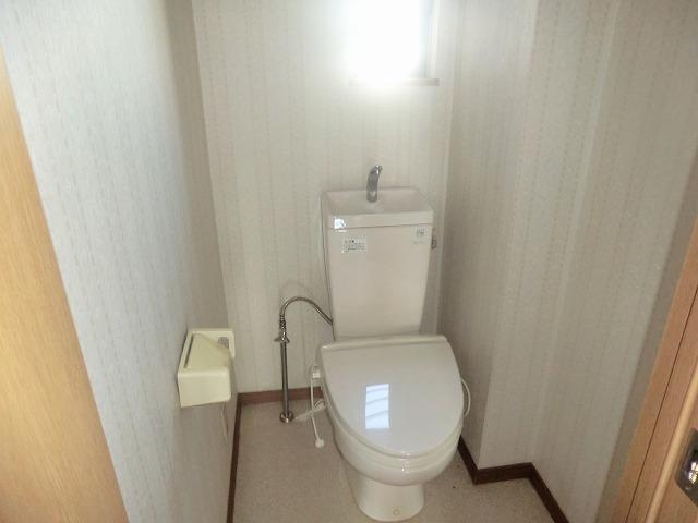 タウニー新安城B 201号室のトイレ