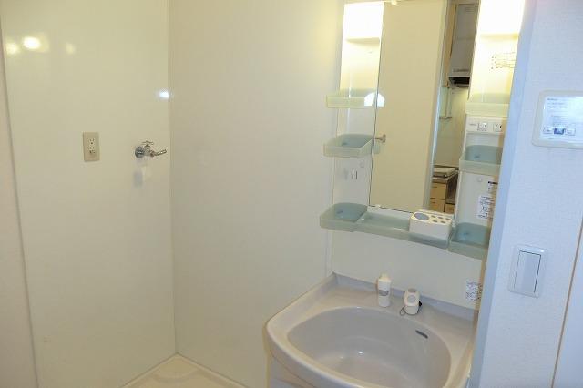 クレールアヴニール B 207号室の洗面所