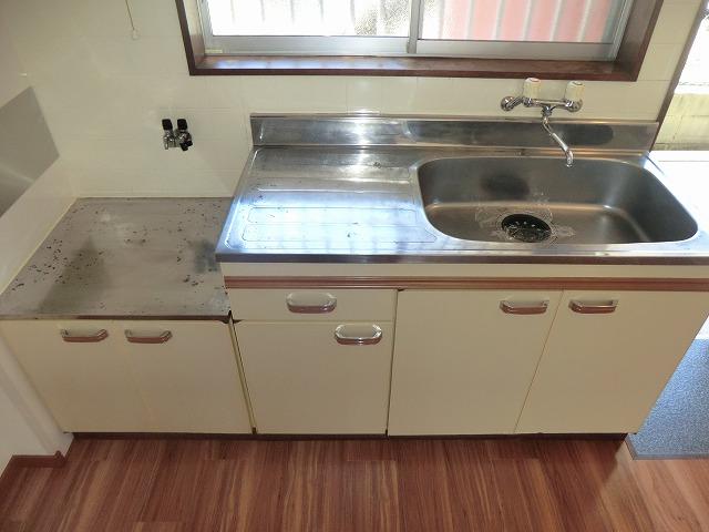 タウニーK 106号室のキッチン