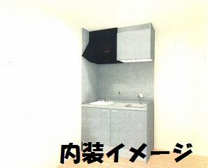 双樹マンション 202号室のキッチン