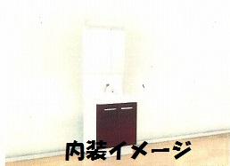 双樹マンション 202号室の洗面所
