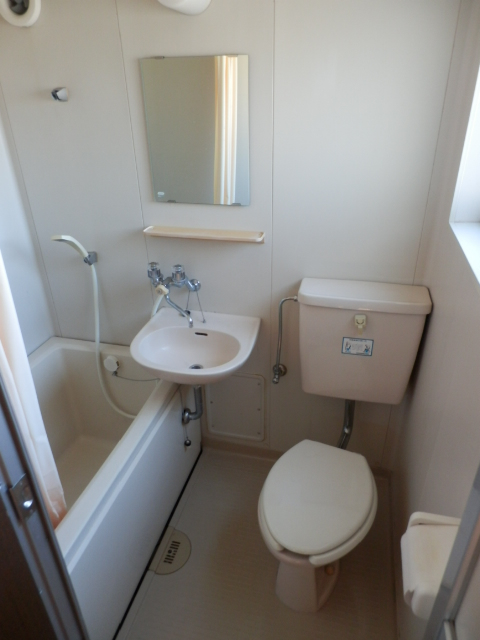 第3栄屋コーポ 201号室の洗面所