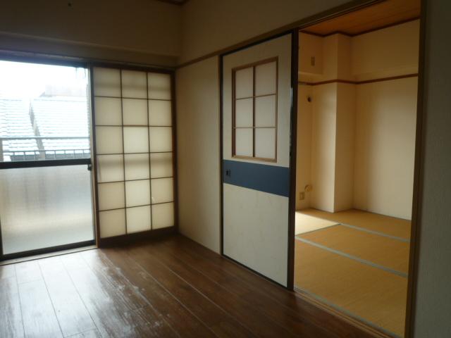コバヤシミルクハウス 3A号室のベッドルーム