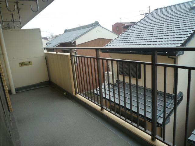 コバヤシミルクハウス 3A号室のバルコニー