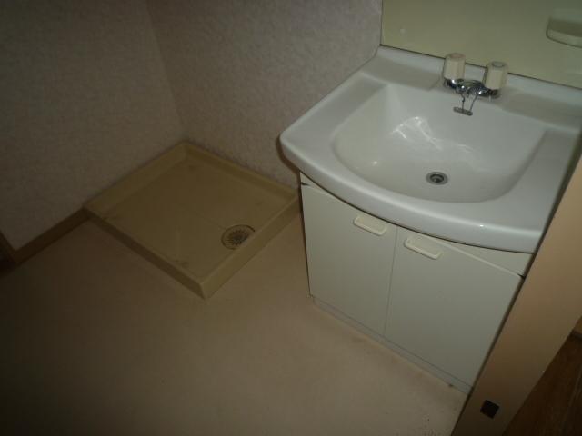 コバヤシミルクハウス 3A号室の洗面所