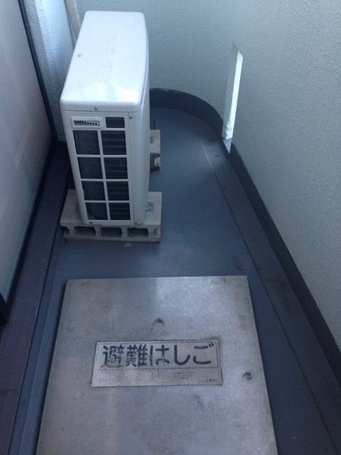 メゾンノーブル 303号室のバルコニー