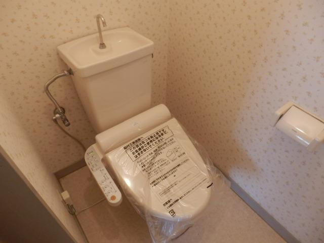 サンライズ清香 303号室のトイレ