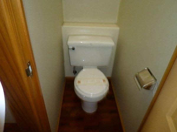 グランドモジュール慶 210号室のトイレ