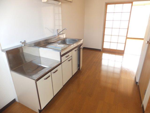 平野ビル 11号室のキッチン