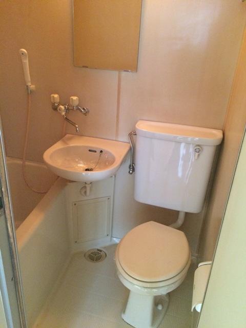 メゾン金森 2A号室のトイレ