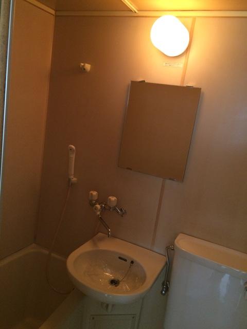 メゾン金森 2A号室の洗面所