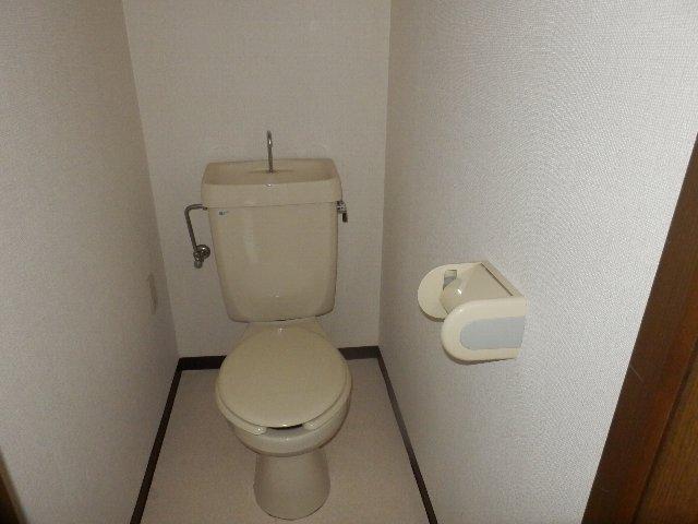 シャリエ中村 301号室のトイレ