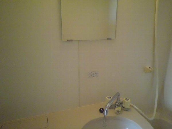 ヴィオロン松崎 202号室の洗面所