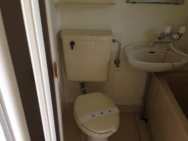 マーガレットハイツ 103号室のトイレ
