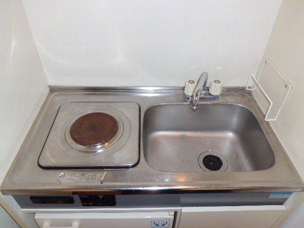 ゴールデンスピア 201号室のキッチン