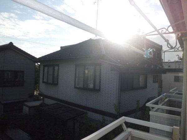 Y・D晴嵐荘 201号室のバルコニー