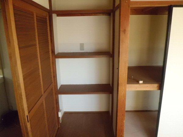 かじや荘 201号室の収納