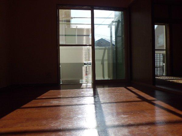 和光ハイツD 102号室のリビング
