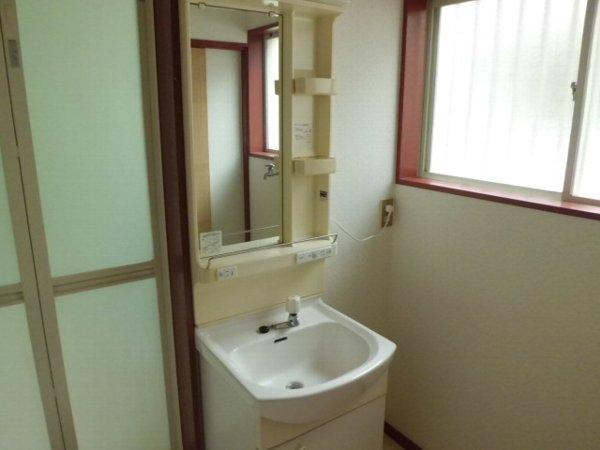 和光ハイツ1の洗面所