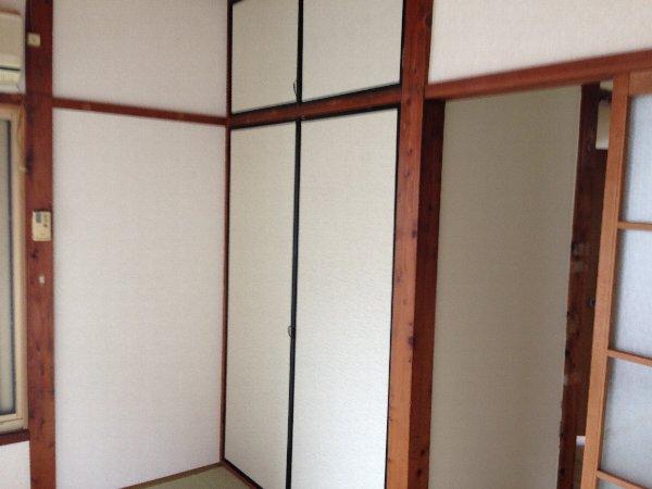 第三グリーンハイム 201号室の収納