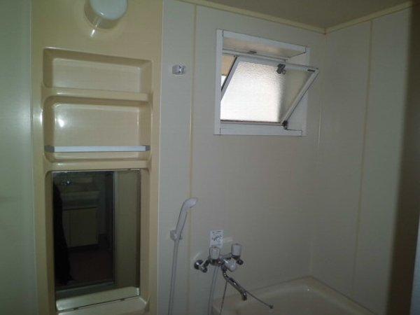 野島パークハイツ 202号室の風呂