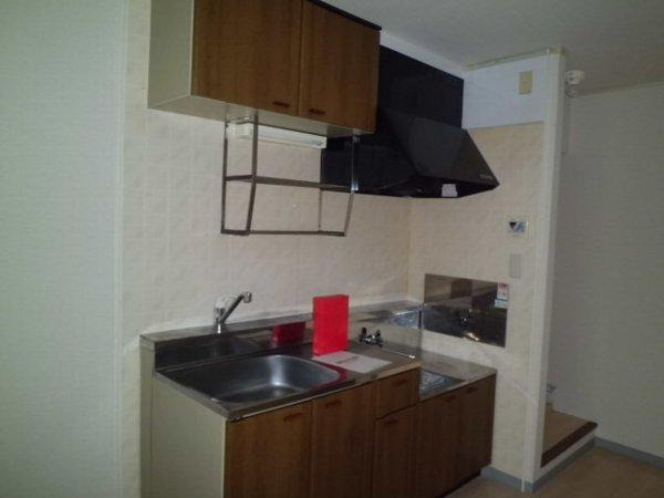 野島パークハイツ 202号室のキッチン