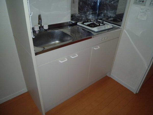 プルメリア・ガーデン 102号室のキッチン