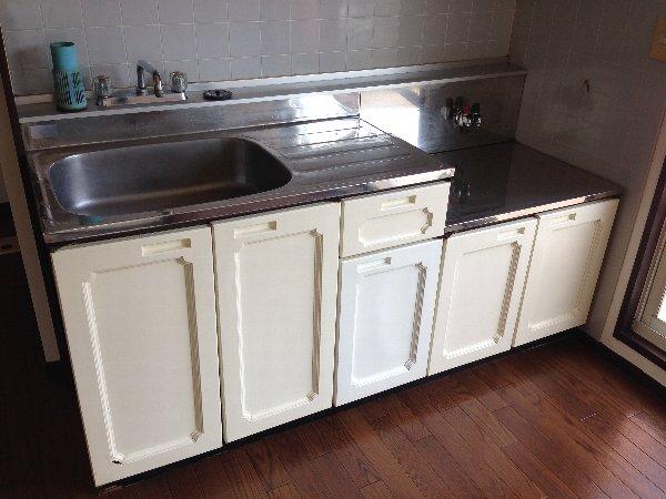 湘南グランドール PART1 201号室のキッチン