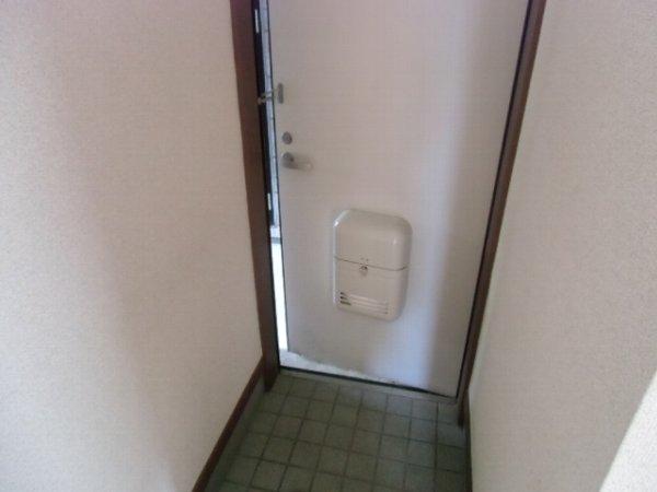 サウスM 202号室の玄関