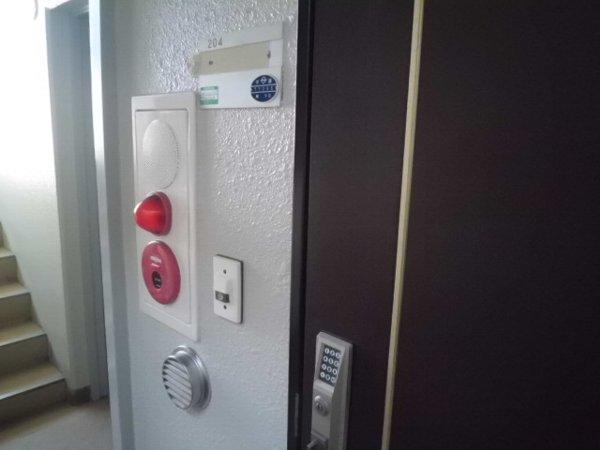 梅林の丘マンション 204号室のセキュリティ