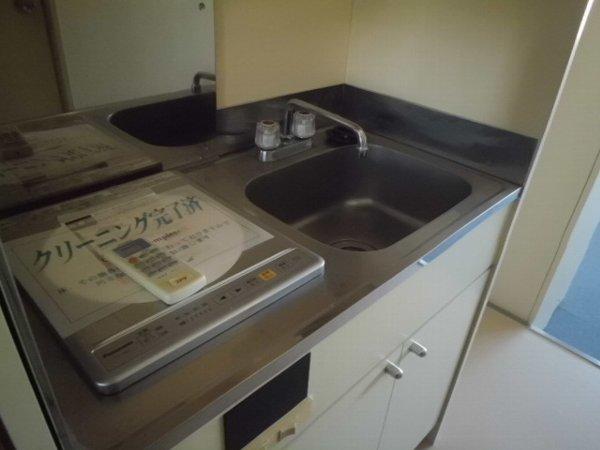 梅林の丘マンション 204号室のキッチン