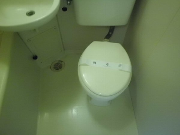 梅林の丘マンション 204号室のトイレ