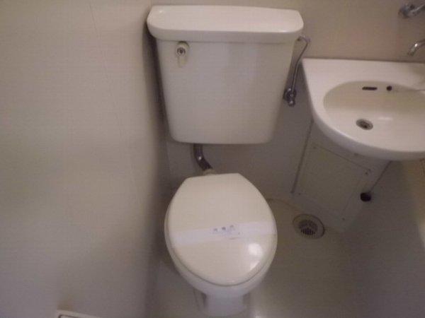 梅林の丘マンション 208号室のトイレ