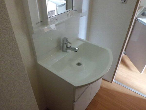 アイフローラ 105号室の洗面所